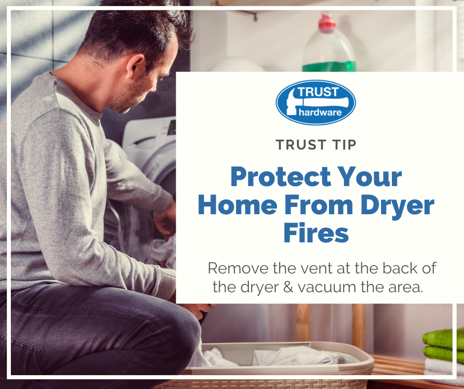 Protect Your Home from Dryer Fires