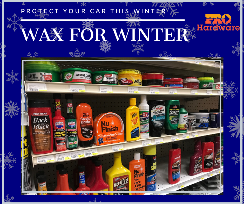 Protect Your Car During Winter