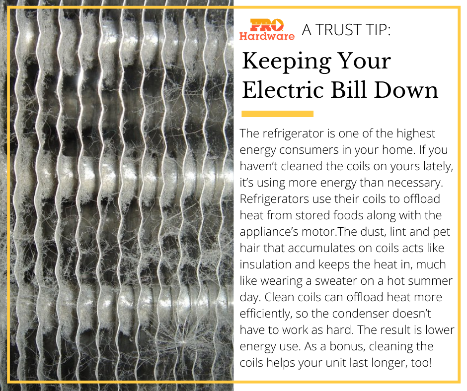 Keep Electric Bill Down
